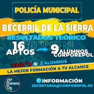 VOLVEMOS A REVENTAR POLICÍA LOCAL BECERRIL DE LA SIERRA – CORPOREPOL: