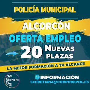 20 NUEVAS PLAZAS POLICÍA LOCAL ALCORCÓN: