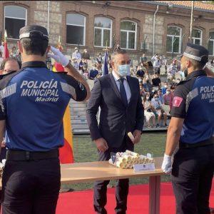 JURA DE BANDERA PROMOCIÓN 52 POLICÍA MUNICIPAL DE MADRID – CORPOREPOL: