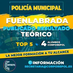 PUBLICADOS RESULTADOS TEÓRICOS POLICÍA LOCAL FUENLABRADA ¡FELICES!: