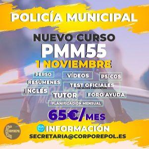 ABRIMOS NUEVO GRUPO POLICÍA MUNICIPAL PROMOCIÓN 55 (2022):