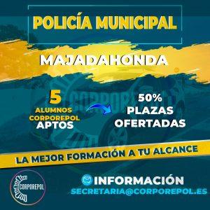RESULTADOS FINALES POLICÍA LOCAL MAJADAHONDA – VOLVEMOS A CONSEGUIRLO: